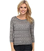 Lucky Brand - Metallic Pullover