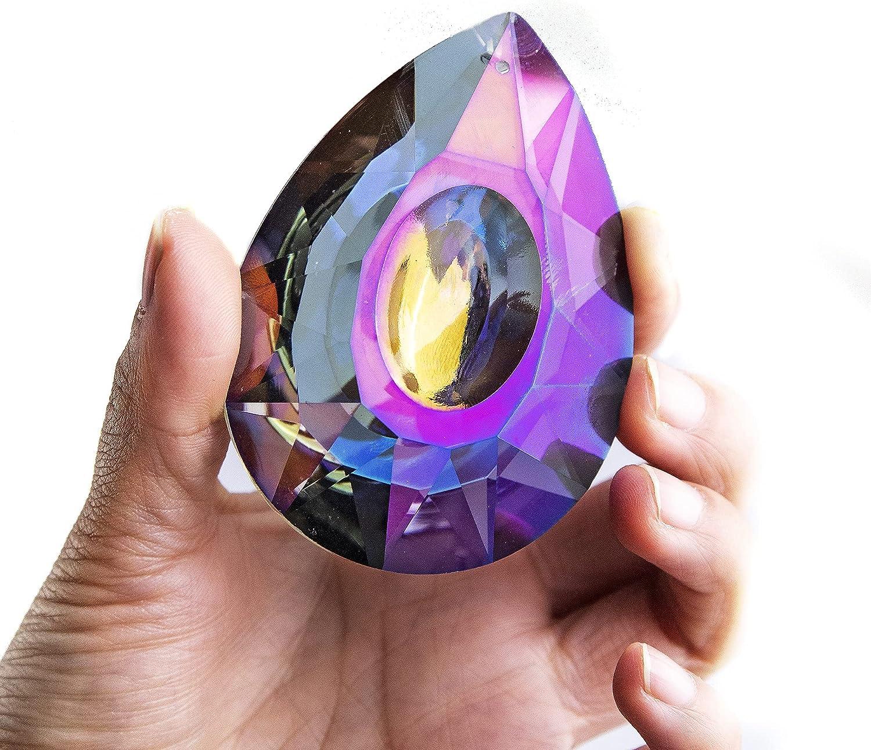 HD HYALINE DORA 76mm Crystal Ranking TOP20 Hanging Bombing new work Chandelier Suncatcher Pr