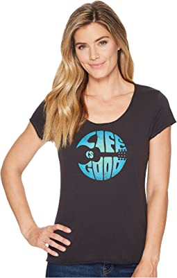 Groovy Guitar Smooth Scoop Tee