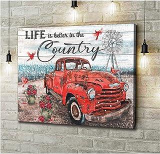 Home Decor C Wall Art Poster Rusty Horseshoe In Art Print // Canvas Print