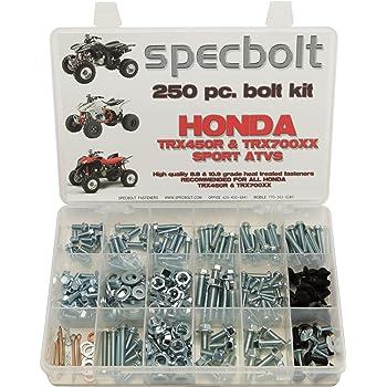 fits TRX250R Fourtrax /& ATC250R Quad and Three Wheeler TRX 250R ATC 250pc Specbolt Fasteners Brand Bolt Kit