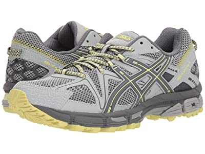 ASICS Gel-Kahana(r) 8 (Mid Grey/Carbon/Limelight) Women