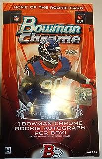 Topps 2014 Bowman Chrome NFL Trading Cards Hobby Box