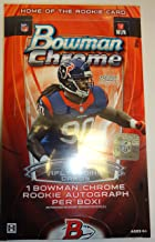 topps chrome football hobby box