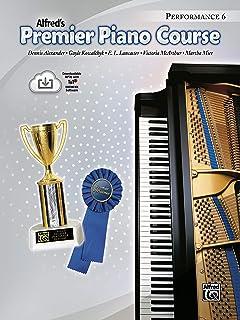 Premier Piano Course Performance, Bk 6: Book & Onlin