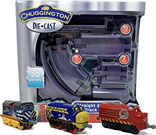 Chuggington Stacktrack Duo Value Pack Die Cast Toy Set Includes Track Pack and Build Adventure 3 pack