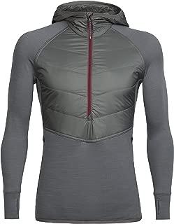 Men's Ellipse Midweight Half Zip Hoodie, Merino Wool