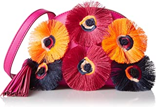 LOEFFLER RANDALL Crossbody Pouch (Nappa/Embroidered Flowers)