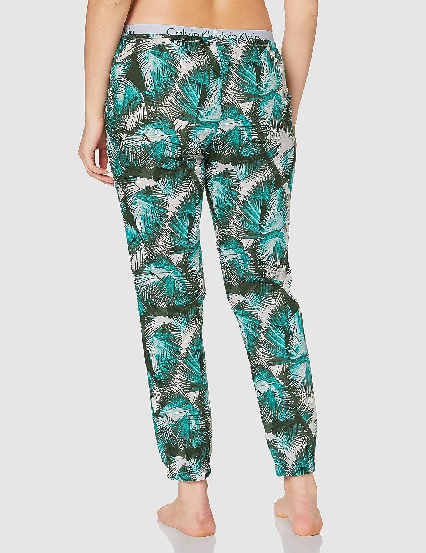 Calvin Klein Sleep Pant Pantaln de Pijama para Mujer: Amazon ...