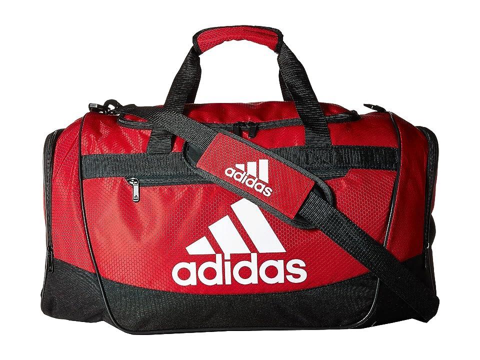 adidas Defender III Medium Duffel (Power Red/Black/White) Bags