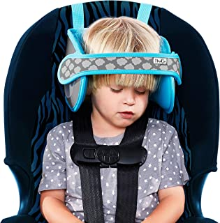 NapUp Child Car Seat Head Support – Safe, Comfortable Support Solution (Light Blue)