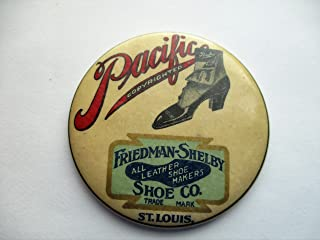 Friedman-Shelby Shoe Co. St. Louis Pocket Mirror Vintage Advertising Collectible