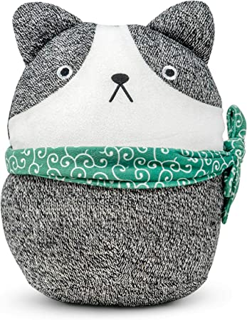 Cuddle Barn Soft Stuffed Animal Toy Squishy Puppy Dog Wearing Scarf Plush Hugging Pillow Kisho The Pup Kitchen Dining