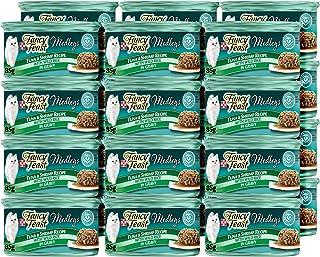 Purina Fancy Feast Medleys Tuna & Shrimp Recipe Wet Cat Food Can 85g (24 Cans)