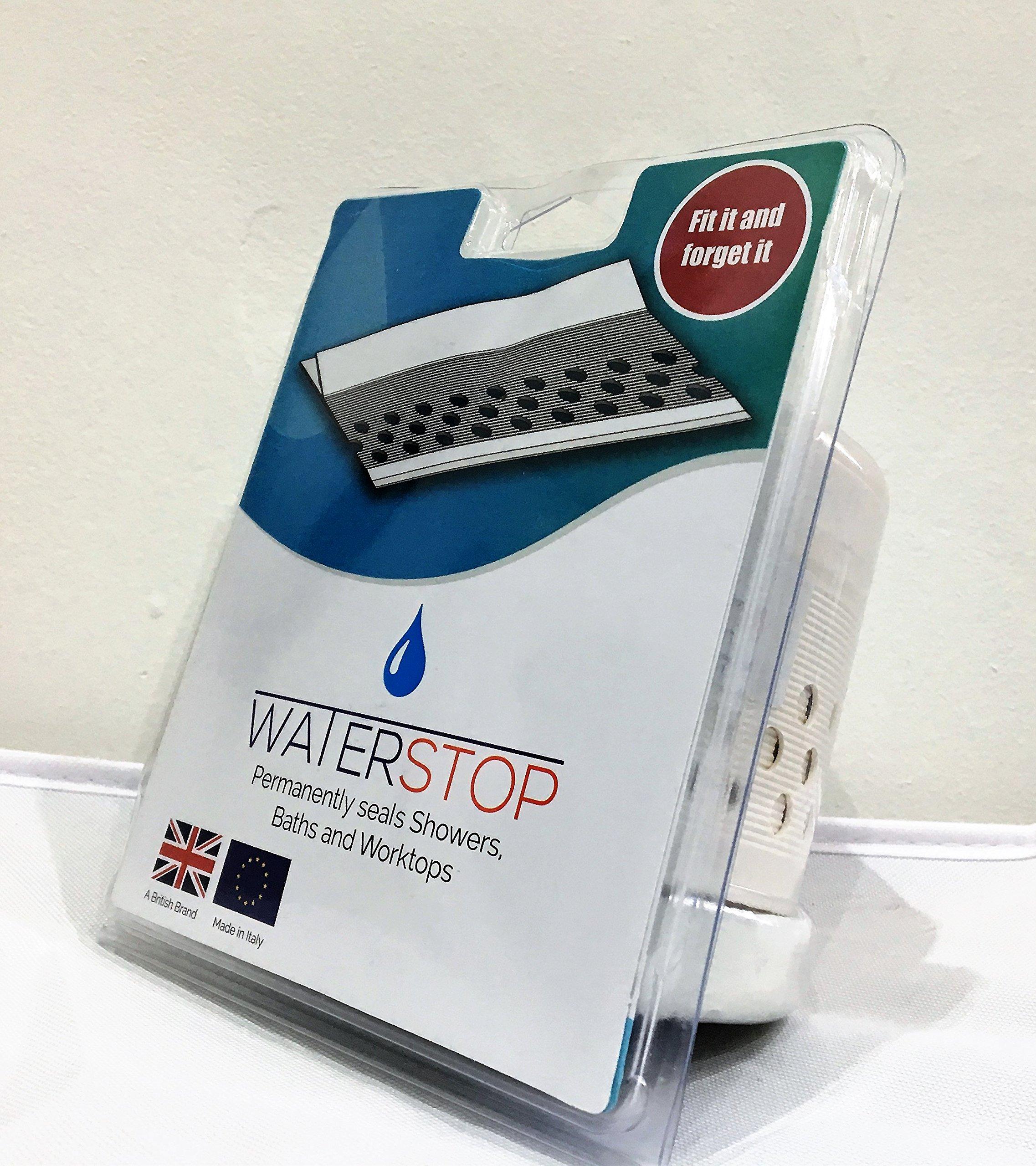 abmWaterstop WS3.2 Cinta de sellado para baño y ducha, color ...