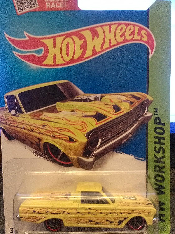 Hot Wheels, 2015 HW Workshop, '65 Ford Ranchero [Yellow] 212 250 by Hot Wheels