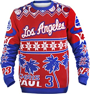 NBA Player Name and Number Ugly Sweater