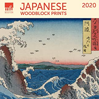MFA Japanese Woodblocks Mini Wall Calendar 2020 Monthly January-December 7