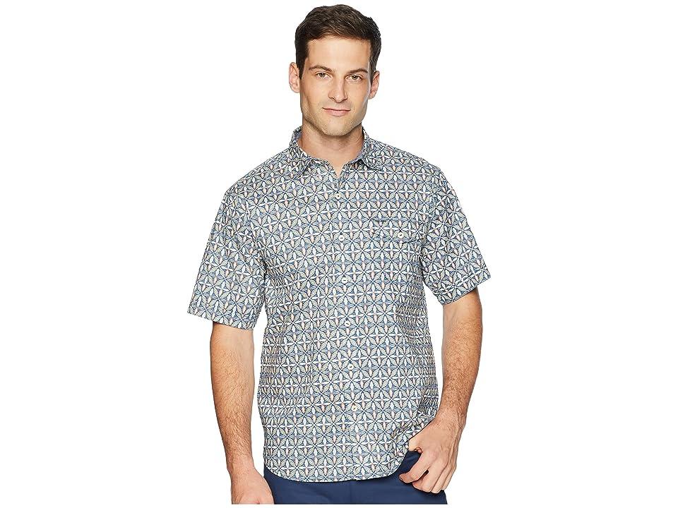 Tommy Bahama - Tommy Bahama Mayan Tiles Camp Shirt
