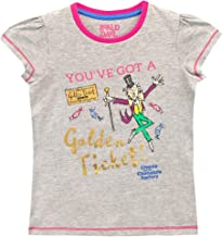 Roald Dahl Girls' Charlie and The Chocolate Factory T-Shirt