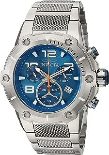 Men's Speedway Swiss-Quartz Watch with Stainless-Steel Strap, Silver, 30 (Model: 19527)