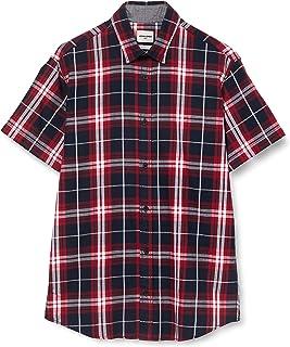 Jack & Jones Jcojupiter Shirt SS Plain Camisa para Hombre