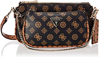 GUESS womens Arie Double Pouch Crossbody ARIE