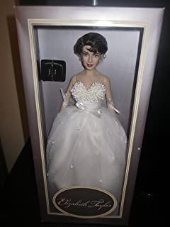 Vintage Franklin Mint Elizabeth Taylor White Wedding Gown Ensemble