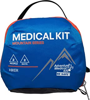 کیت های پزشکی ماجراجویی AMK Mountain Series Hiker Kit Kit ، آبی/نارنجی ، یک اندازه ، 0100-1001