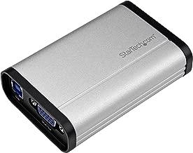 StarTech.com VGA Video Capture Card - 1080p 60fps Game Capture Card - Aluminum - Game Capture Card - HD PVR - USB Video Capture (USB32VGCAPRO)
