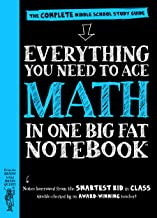 Everything You Need to Ace Math in One Big Fat Notebook: The Complete Middle School Study Guide (Big Fat Notebooks) PDF