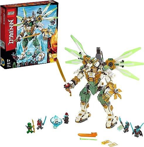 Obtén lo ultimo LEGO Ninjago Ninjago Ninjago - Titán Robot de Lloyd Set de construcción con Ninja Gigante de Juguete, incluye Minifiguras de Samurais, Novedad 2019 (70676)  Precio al por mayor y calidad confiable.