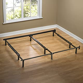 Zinus Michelle Compack Adjustable Steel Bed Frame, for Box Spring and Mattress Set, Fits..