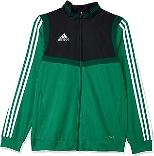 Adidas Australia Kids Tiro 19 Presentation Jacket, Bold Green/White, 152