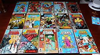 Tales of the Teen Titans Comic Book Lot of 15 Issues 41 43 45 46 48 49 50 51 52 53 56 57 58 60 and 62)
