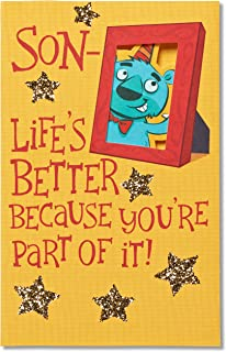 American Greetings Funny Birthday Card for Son (Life's Better)
