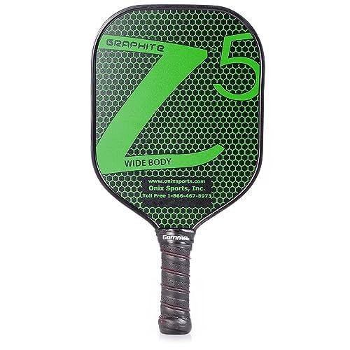 96780af2bda ONIX Graphite Z5 Pickleball Paddle (Graphite Carbon Fiber Face with Rough  Texture Surface