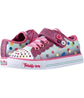 SKECHERS KIDS - Twinkle Toes - Shuffles 10684N Lights (Toddler/Little Kid)