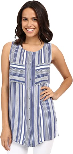 Helen Stripe Sleeveless Top