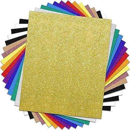 Glitter Valentine's Day Heat Transfer Vinyl HTV Sheets Bundle Iron ...