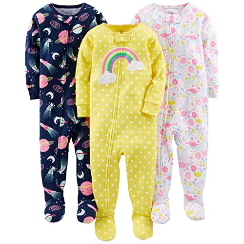 0e374f1a4dfc Footed Baby Pajamas  Amazon.com