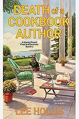 Death of a Cookbook Author (Hayley Powell Mystery 10) Kindle Edition