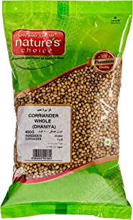 Natures Choice Coriander Whole - 400 gm