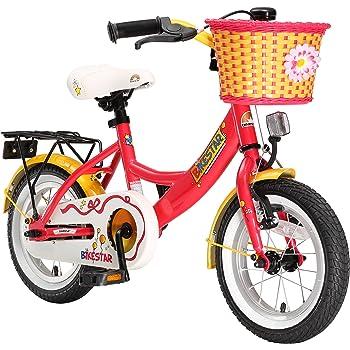 Bikestar | Bicicleta Infantil 12 Pulgadas | Color Rojo | A Partir ...