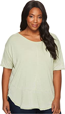 Plus Size Café Burnout Jersey Tee