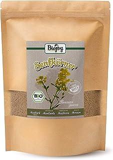 Biojoy Semillas de mostaza orgánicas, semillas enteras -