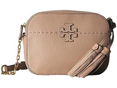 Tory Burch McGraw Camera Bag (Devon Sand) Bags