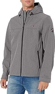 mens Lightweight Performance Softshell Hoody Jacket