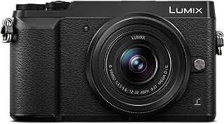 Panasonic Lumix DMC-GX80K - Cámara EVIL de 16 MP Pantalla de 3 Estabilizador Óptico de 5 Ejes RAW Wi-Fi 4K Kit con Objetivo Lumix Vario 12 - 32 mm/F3.5-5.6 Color Negro