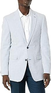 Men's Modern Fit Seersucker Suit Separates-Custom Jacket...